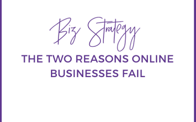 The Two Reasons Online Businesses Fail