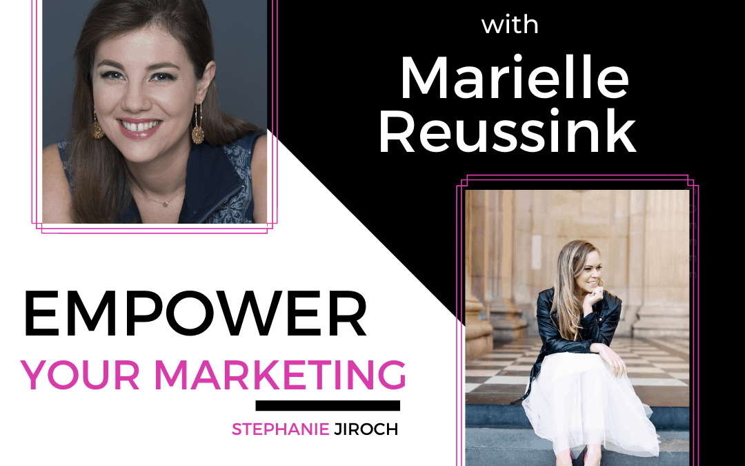 Start-ups and Consulting: A Potential Yet to be Seen w/ Marielle Reussink