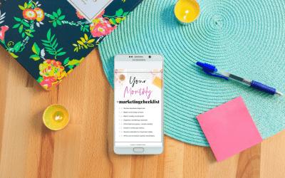 [Download] Your Essential Monthly Marketing Checklist